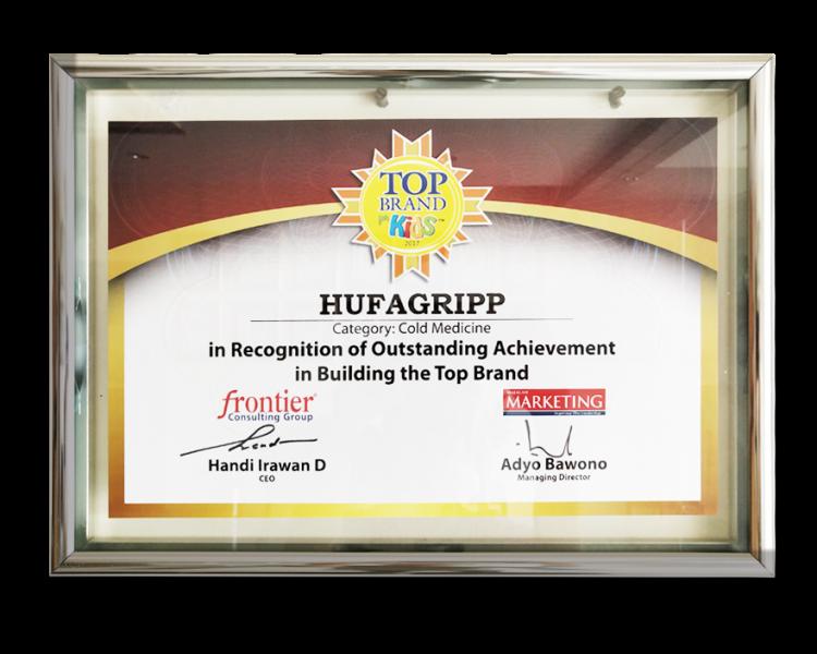 HUFAGRIPP 2017 TOP BRAND COLD