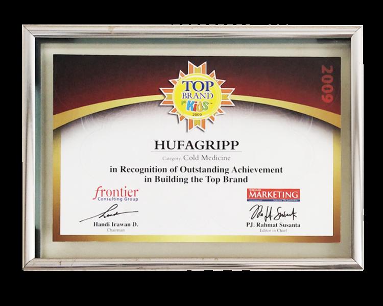 HUFAGRIPP 2019 TOP BRAND COLD