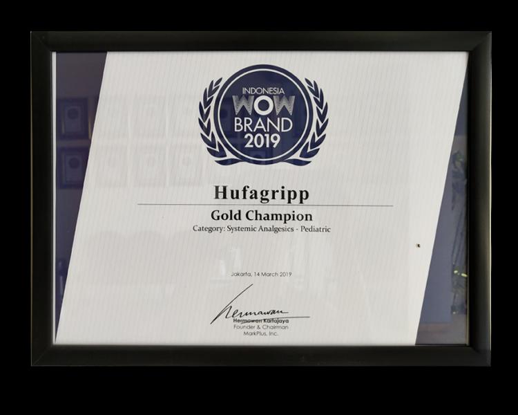 HUFAGRIPP 2019 WOW BRAND GOLD