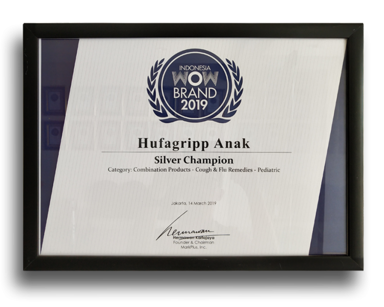 HUFAGRIPP ANAK WOW BRAND 2019 SILVER