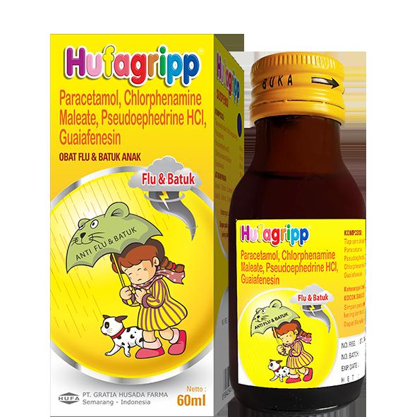 HUFAGRIPP Flu & Batuk Syrup